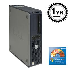 Dell GX620 2.8GHz 80GB XP Desktop Computer (Refurbished) - Thumbnail 2