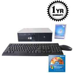 HP DC5700 Core 2 Duo 1.86GHz 500GB Desktop Computer (Refurbished) - Thumbnail 2
