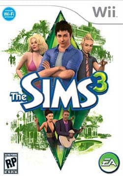 Wii - The Sims 3 - By Electronic Arts