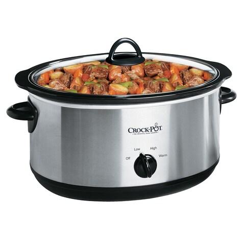 Crock-Pot SCV700-SS Stainless Steel 7-Quart Slow Cooker