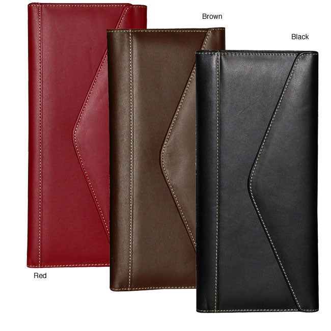 Buxton Soft-leather Business Card Holder With Magnetic Closure