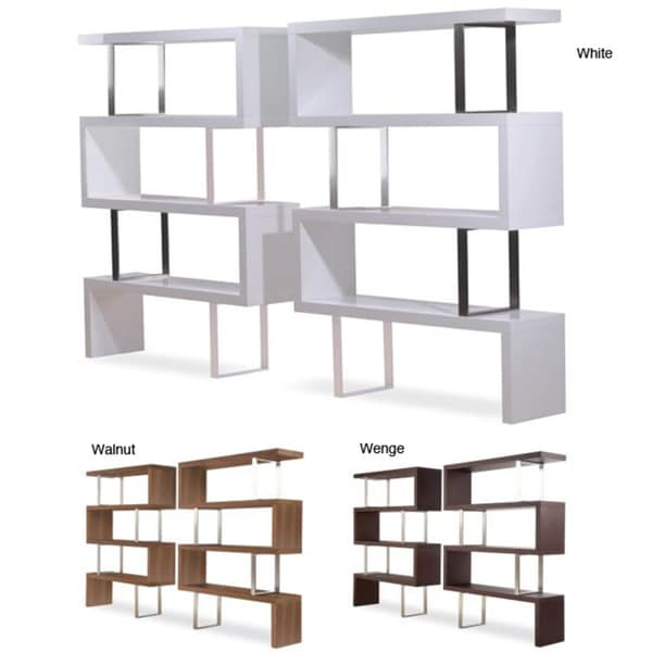 Modloft Pearl Modern Bookcase