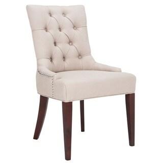 Safavieh En Vogue Dining Nimes Putty Grey Dining Chair
