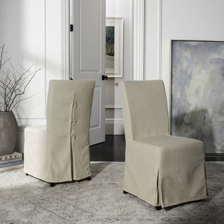 Safavieh Parsons Dining Slipcover Dining Chairs (Set Of 2)   33 X 19 X