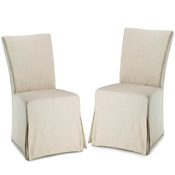Safavieh Parsons Dining Slipcover Side Chairs Set Of 2
