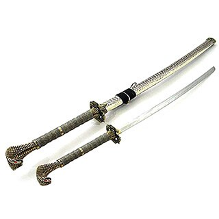 43-inch Cobra Snake Head Samurai Sword