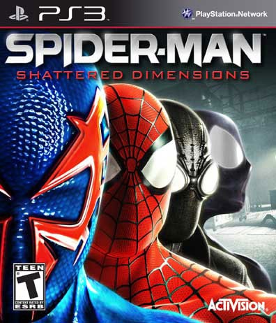 PS3 - Spider-Man: Shattered Dimensions
