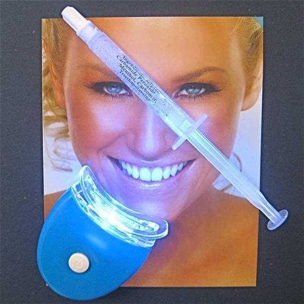 Shop New Teeth Whitening 44 Percent Led Light And Single Gel