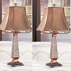 Coppy 31-inch Antique Table Lamps (Set of 2)