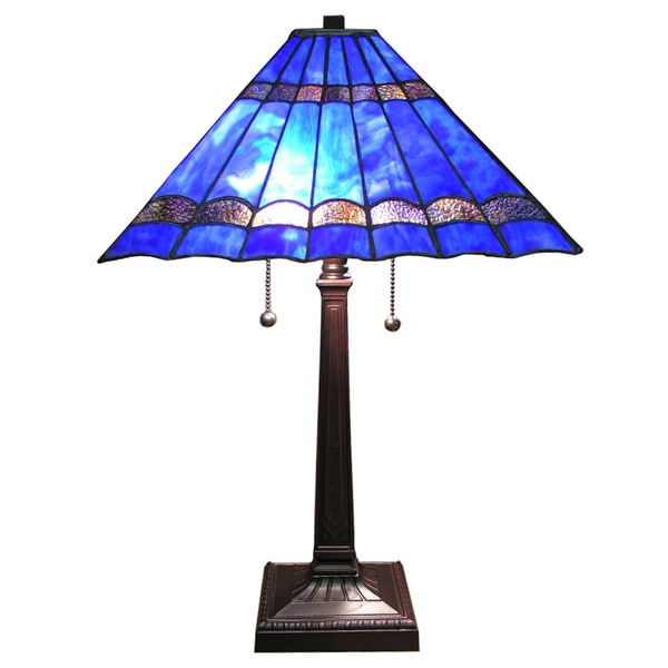 tiffany style gothique table lamp free shipping today overstock. Black Bedroom Furniture Sets. Home Design Ideas