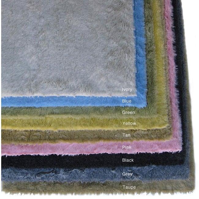 Ohno Kanecaron Faux Fur Rug (2' x 4') - 2' x 4'