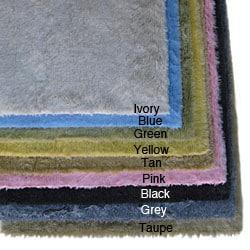 Ohno Kanecaron Faux Fur Rug (5' x 8')