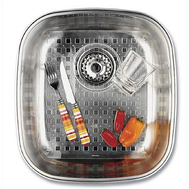 Happy Housewares Clear Sink Mats