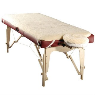 Shop Massage Table Fleece Pad Sheet And Facerest Cover Set