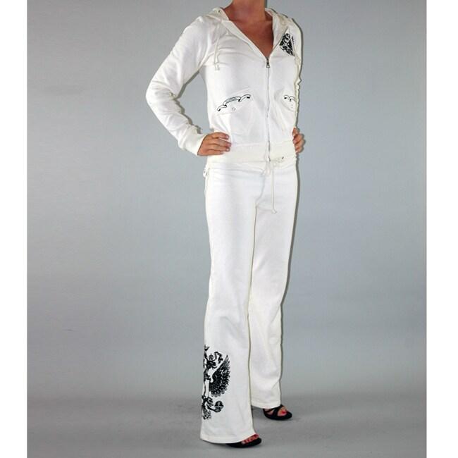Elegant Ladies Frill Detail Top U0026 Jogger Two Piece Womens Lounge Wear Suit Set Plus Size | EBay