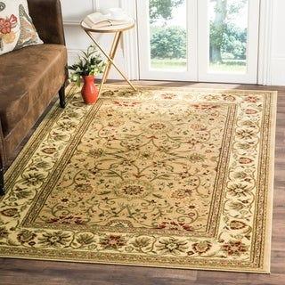 Safavieh Lyndhurst Traditional Oriental Beige/ Ivory Rug (8' 11 x 12' rectangle)