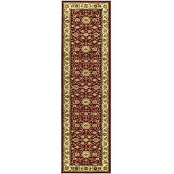Safavieh Lyndhurst Traditional Oriental Red/ Ivory Runner (2'3 x 6')