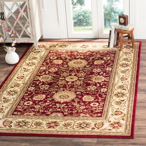 Shop Safavieh Lyndhurst Traditional Oriental Red Ivory Rug 4 X 6