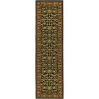 Safavieh Lyndhurst Traditional Oriental Black/ Red Runner (2'3 x 6') - 2'3 x 6'