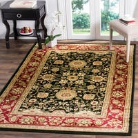 Safavieh Lyndhurst Traditional Oriental Black/ Red Rug - 4' x 6'