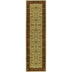 "Safavieh Lyndhurst Traditional Oriental Ivory/ Red Runner Rug - 2'3"" x 6' - Thumbnail 0"
