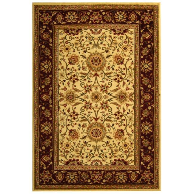 Safavieh Lyndhurst Traditional Oriental Ivory/ Red Rug (9' x 12')