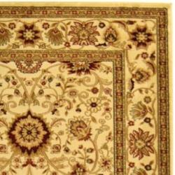 Lyndhurst Collection Majestic Ivory/ Ivory Rug (9' x 12') Safavieh 7x9   10x14 Rugs