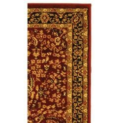 Safavieh Lyndhurst Traditional Oriental Red/ Black Runner (2'3 x 6') - Thumbnail 1