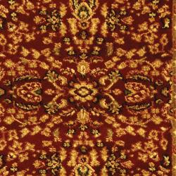 Safavieh Lyndhurst Traditional Oriental Red/ Black Runner (2'3 x 6') - Thumbnail 2