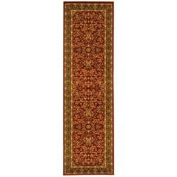 Safavieh Lyndhurst Traditional Oriental Red/ Black Runner (2'3 x 6') - Thumbnail 0