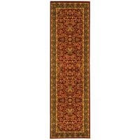 Safavieh Lyndhurst Traditional Oriental Red/ Black Runner Rug - 2'3 x 6'