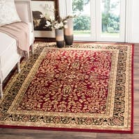 Safavieh Lyndhurst Traditional Oriental Red/ Black Rug - 8'11 x 12'