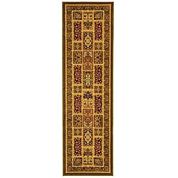 Safavieh Lyndhurst Traditional Oriental Green/ Multi Runner (2'3 x 6')