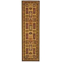 Safavieh Lyndhurst Traditional Oriental Green/ Multi Runner Rug - 2'3 x 6'