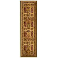 "Safavieh Lyndhurst Traditional Oriental Green/ Multi Runner (2'3 x 6') - 2'3"" x 6'"