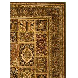 Safavieh Lyndhurst Traditional Oriental Green/ Multi Rug (9' x 12')