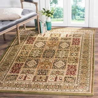 Safavieh Lyndhurst Traditional Oriental Green/ Multi Rug (8' 11 x 12' rectangle)