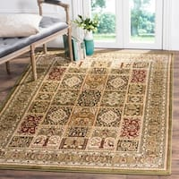 Safavieh Lyndhurst Traditional Oriental Green/ Multi Rug - 9' x 12'
