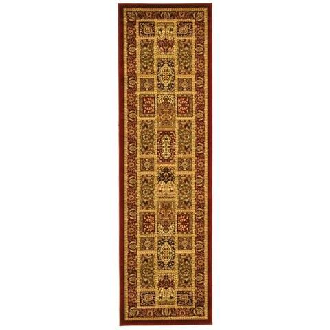 "Safavieh Lyndhurst Traditional Oriental Red/ Multi Runner (2'3 x 6') - 2'3"" x 6'"