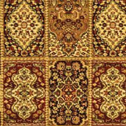 Safavieh Lyndhurst Collection Isfan Red/ Multi Rug (9' x 12')
