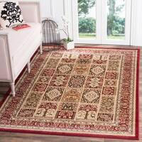 Safavieh Lyndhurst Traditional Oriental Red/ Multi Rug - 8'11 x 12'