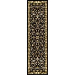 "Safavieh Lyndhurst Traditional Oriental Black/ Ivory Runner Rug (2'3"" x 6')"