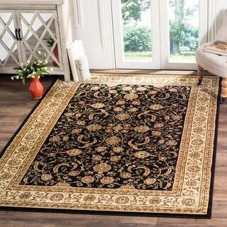 Safavieh Lyndhurst Traditional Oriental Black/ Ivory Rug (4' x 6')
