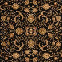 Safavieh Lyndhurst Traditional Oriental Black/ Ivory Rug (9' x 12')