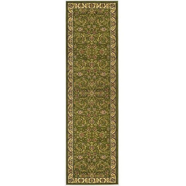 """Safavieh Lyndhurst Traditional Oriental Sage/ Ivory Runner (2'3"""" x 6')"""