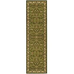 "Safavieh Lyndhurst Traditional Oriental Sage/ Ivory Runner (2'3"" x 6') - Thumbnail 0"