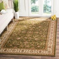 Safavieh Lyndhurst Traditional Oriental Sage/ Ivory Rug (8' 11 x 12' rectangle)