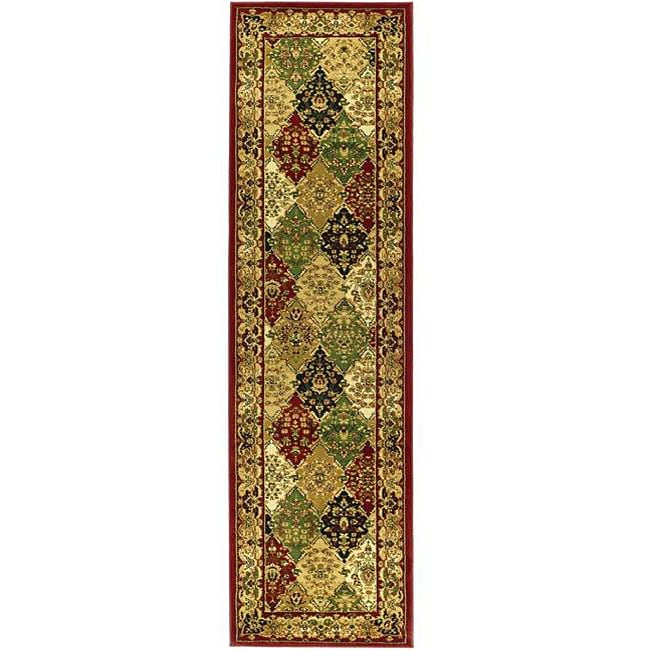 Safavieh Lyndhurst Traditional Oriental Multicolor/ Red Runner (2'3 x 6')