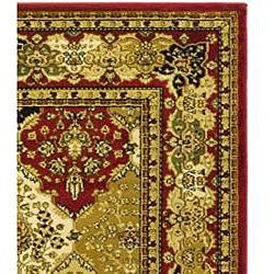 Safavieh Lyndhurst Traditional Oriental Multicolor/ Red Runner (2'3 x 6') - Thumbnail 1