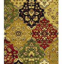Safavieh Lyndhurst Traditional Oriental Multicolor/ Red Runner (2'3 x 6') - Thumbnail 2